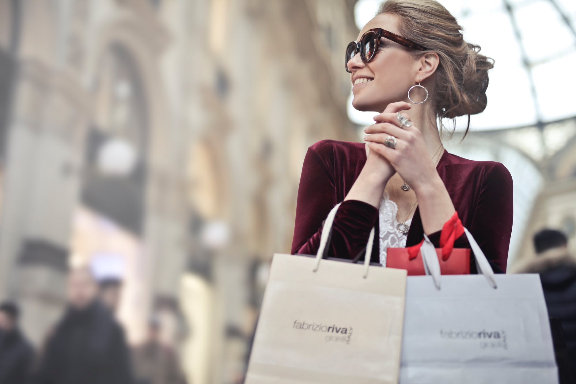 Le shopping est un antidépresseur efficace