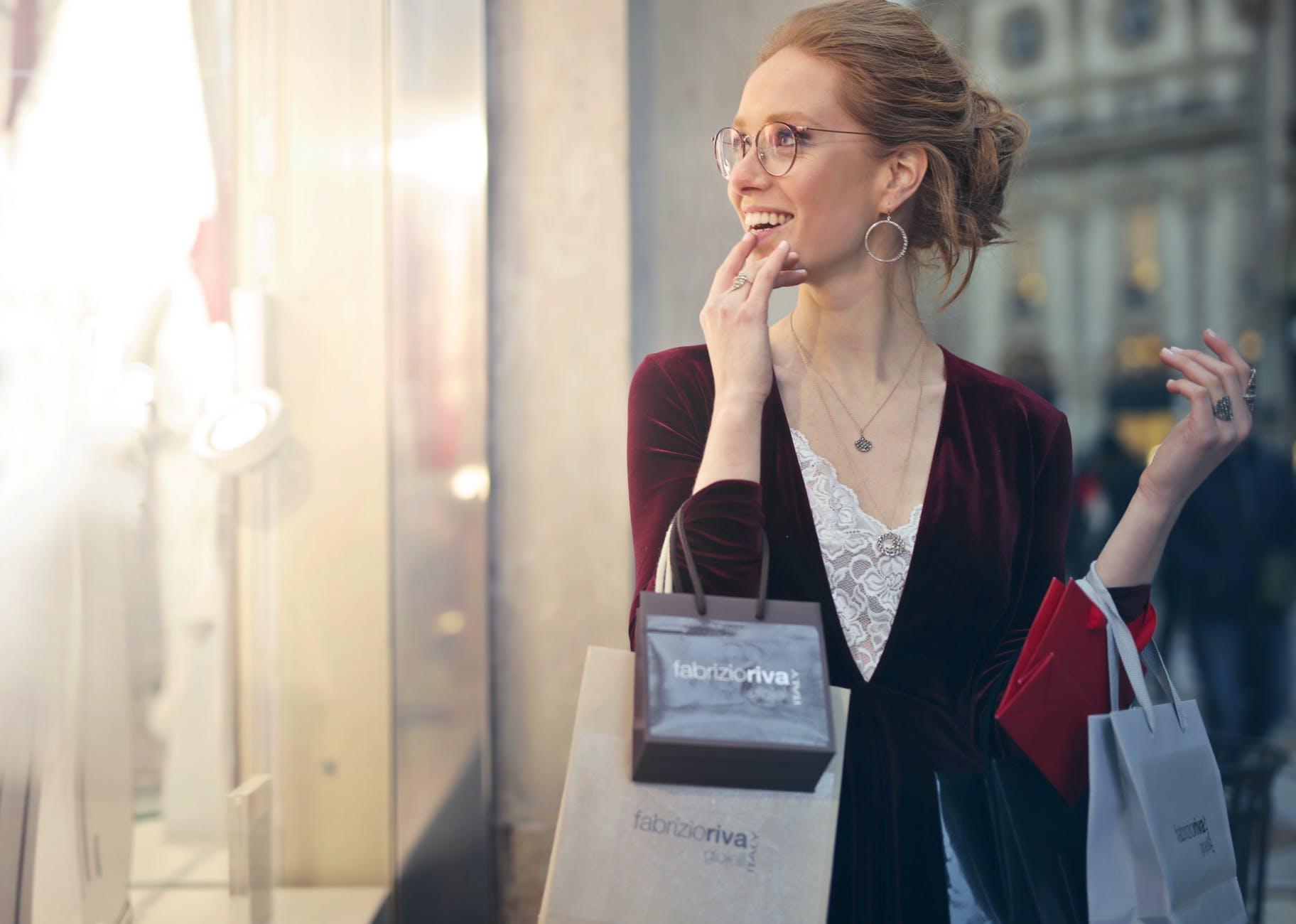 Le shopping apportejoieet bonnehumeur
