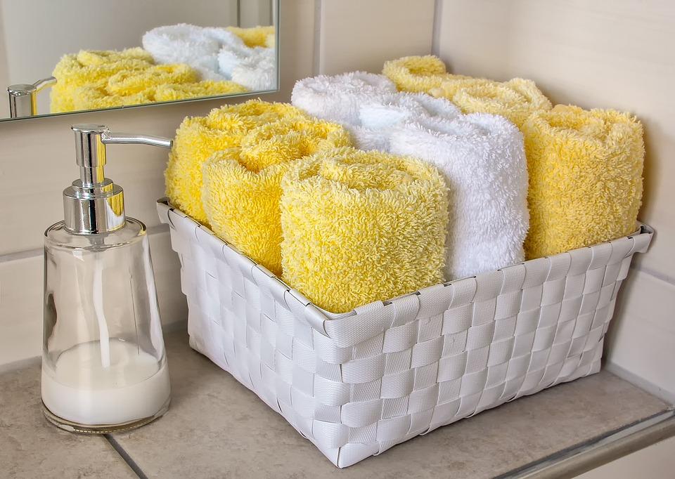 Comment ranger ses serviettes de toilette